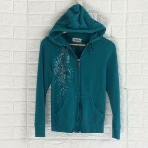 Arbor Collective zip up graphic hoodie